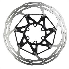 SRAM Centerline X remschijf Afgerond 6-gaats 2-delig zwart/zilver